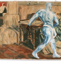 Blue Sower in Lenin's Room 82'